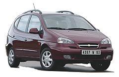 Chevrolet Rezzo - семейный автомобиль