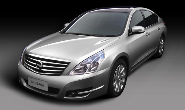 Россия станет первым рынком сбыта для новой Nissan Teana.